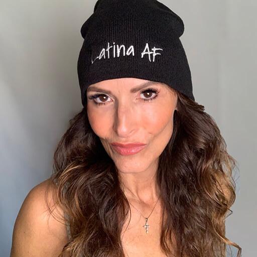 Latina AF Beanie