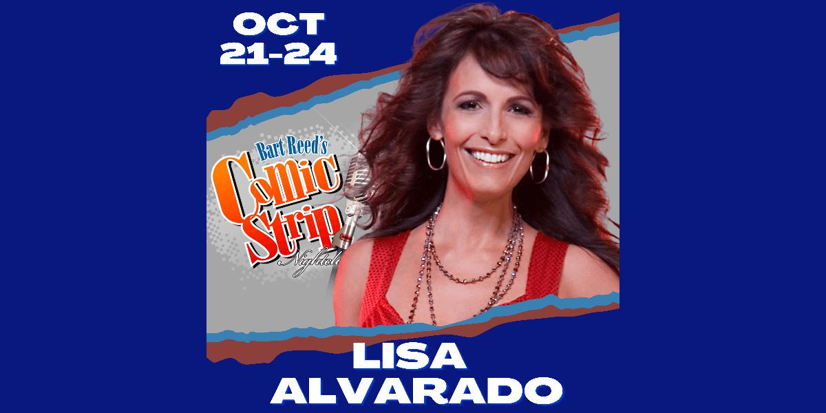 Lisa Alvarado at Comic Strip El Paso